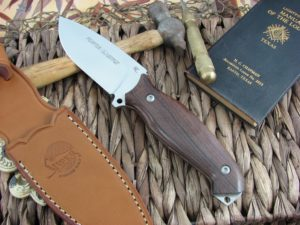Viper Cutlery Pointer Cocobolo Wood Hunter Fixed Blade N690 4870CB