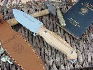 Viper Cutlery Pointer Olive Wood Hunter Fixed Blade N690 4870UL