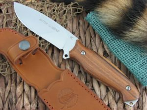 Viper Cutlery Setter Cocobolo Wood Hunter Fixed Blade N690 4872CB