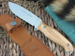Viper Cutlery Setter Olive Wood Hunter Fixed Blade N690 4872UL