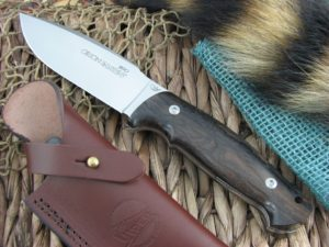 Viper Cutlery Orion Zircote Wood Hunter Fixed Blade N690 4878ZI