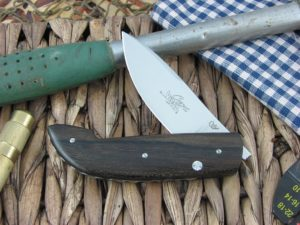Viper Cutlery Gent Drop Point Zircote Wood handles N690 steel Satin 5760ZI