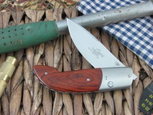 Viper Cutlery Gent Drop Point Cocobolo Wood handles N690 steel Satin 5770CB