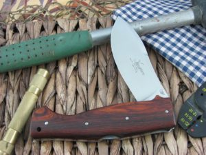 Viper Cutlery Venator Hunter Cocobolo Wood handles N690 steel Satin 5800CB
