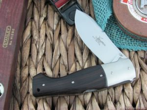 Viper Knives Venator Hunter Ebony Wood handles N690 steel Satin 5810EB