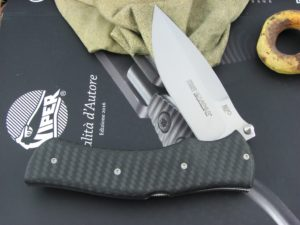 Viper Knives Start Hunter Carbon Fiber handles N690 steel Satin 5840FC