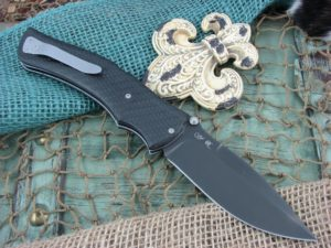 Viper Knives Start Hunter Carbon Fiber handles D2 steel PVD Coated 5860FC