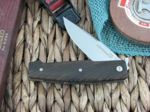 Viper Knives Keeper Clip Zircote Wood handles N690 steel Satin 5870ZI
