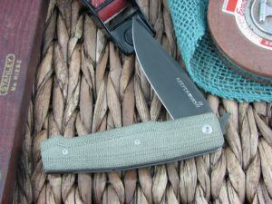 Viper Knives Keeper Clip OD Green Canvas Micarta handles D2 steel Black PVD 5890CV