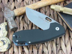 Viper Cutlery Odino Clip Black G10 handles N690 steel Stonewash 5918GB