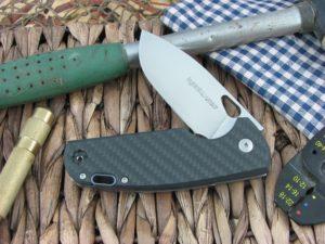 Viper Cutlery Kyomi Clip Flipper Carbon Fiber handles N690 steel Satin 5932FC