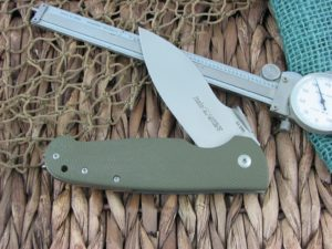 Viper Cutlery Italo Framelock Spear Flipper Green G10 handles M390 steel Satin 5944GG