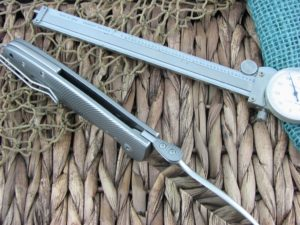 Viper Cutlery Italo Framelock Spear Flipper Titanium handles