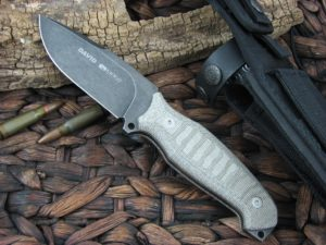 Viper Cutlery David Verde Canvas Micarta Hunter Fixed Blade D2 4002ECG