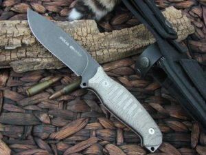 Viper Cutlery Goliath Verde Canvas Micarta Hunter Fixed Blade D2 4003ECG