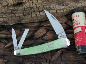 Case Cutlery Seahorse Whittler Mint Green Bone CA55403