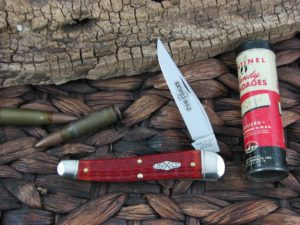 reat Eastern Cutlery 38 Special Jack Northfield Indian Paintbrush Bone 381117