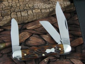 Great Eastern Cutlery Calf Roper Stockman Tidioute Antique Autumn Bone 661317