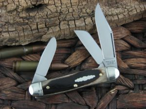 Great Eastern Cutlery Calf Roper Medium Stockman Northfield Oily Creek Bone 661317