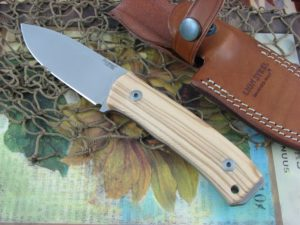 Lion Steel M4 Olive Wood handles M390 steel M4UL
