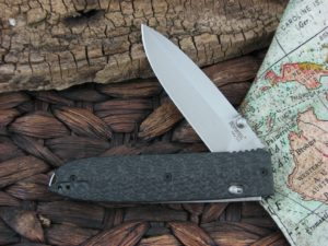 Lion Steel Daghetta with Black 3D Carbon Fiber handles 8700FC