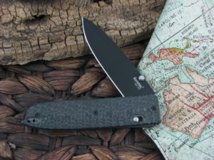 Lion Steel Daghetta with Black 3D Carbon Fiber handles 8701FC