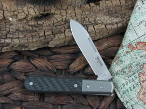 Lion Steel Roundhead Spear Jack Carbon Fiber Handles M390 Steel CK0101