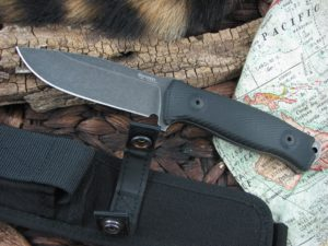 Lion Steel M5 with Milled Black G10 handles M5BG10