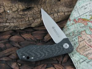 Maserin Cutlery AM3 Gentleman with Carbon Fiber handles 377CN