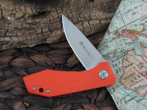 Maserin Cutlery AM3 Gentleman with Orange G10 handles 377G10A