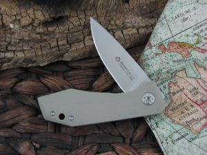 Maserin Cutlery AM3 Gentleman with Coyote G10 handles 377G10CY