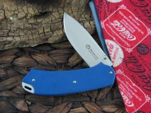 Maserin Cutlery Birdland with Blue G10 handles 396G10B