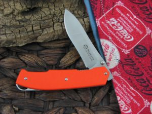 Maserin Cutlery Ram with Orange G10 handles 501G10A