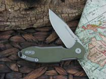 Viper Cutlery Storm with Green G10 handles V5954GG