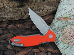Viper Cutlery Storm with Orange G10 handles V5954GO