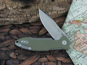 Viper Cutlery Storm with Green G10 handles V5956GG