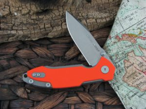 Viper Cutlery Storm with Orange G10 handles V5956GO