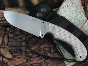 Viper Cutlery Tank with Cotton Canvas Micarta handles Camp