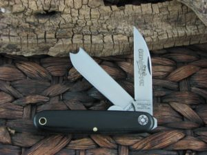 Great Eastern Cutlery Calf Pen Farm and Field Black Linen Micarta 350217