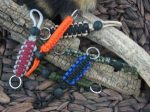 Paracord Lanyard with Keyring and Adjustment