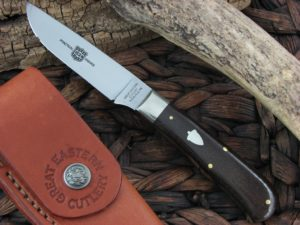 Great Eastern Cutlery Canoe Hunter with Burlap Micarta handles H232