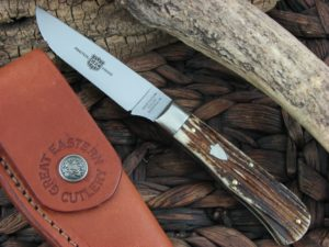 Great Eastern Cutlery Canoe Hunter with Cougar Clawed Bone handles H232