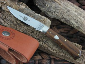 Great Eastern Cutlery Bird and Trout with American Chestnut handles H731