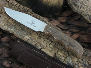 Arno Bernard Knives Scavenger Vulture with Kudu Bone handles