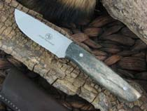 Arno Bernard Pro Hunter Wildebeest with Giraffe Bone handles