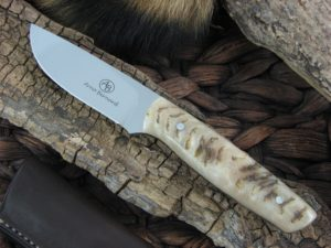 Arno Bernard Pro Hunter Wildebeest with Sheep Horn handles
