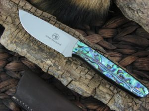 Arno Bernard Pro Hunter Wildebeest with Paua LVS handles