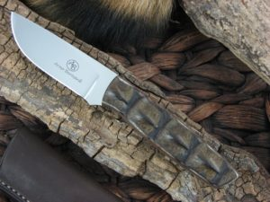 Arno Bernard Pro Hunter Wildebeest with Crocodile Hide handles