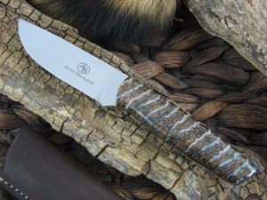 Arno Bernard Pro Hunter Wildebeest with Mammoth Molar handles