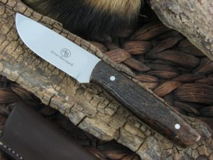 Arno Bernard Pro Hunter Wildebeest with Kudu Bone handles